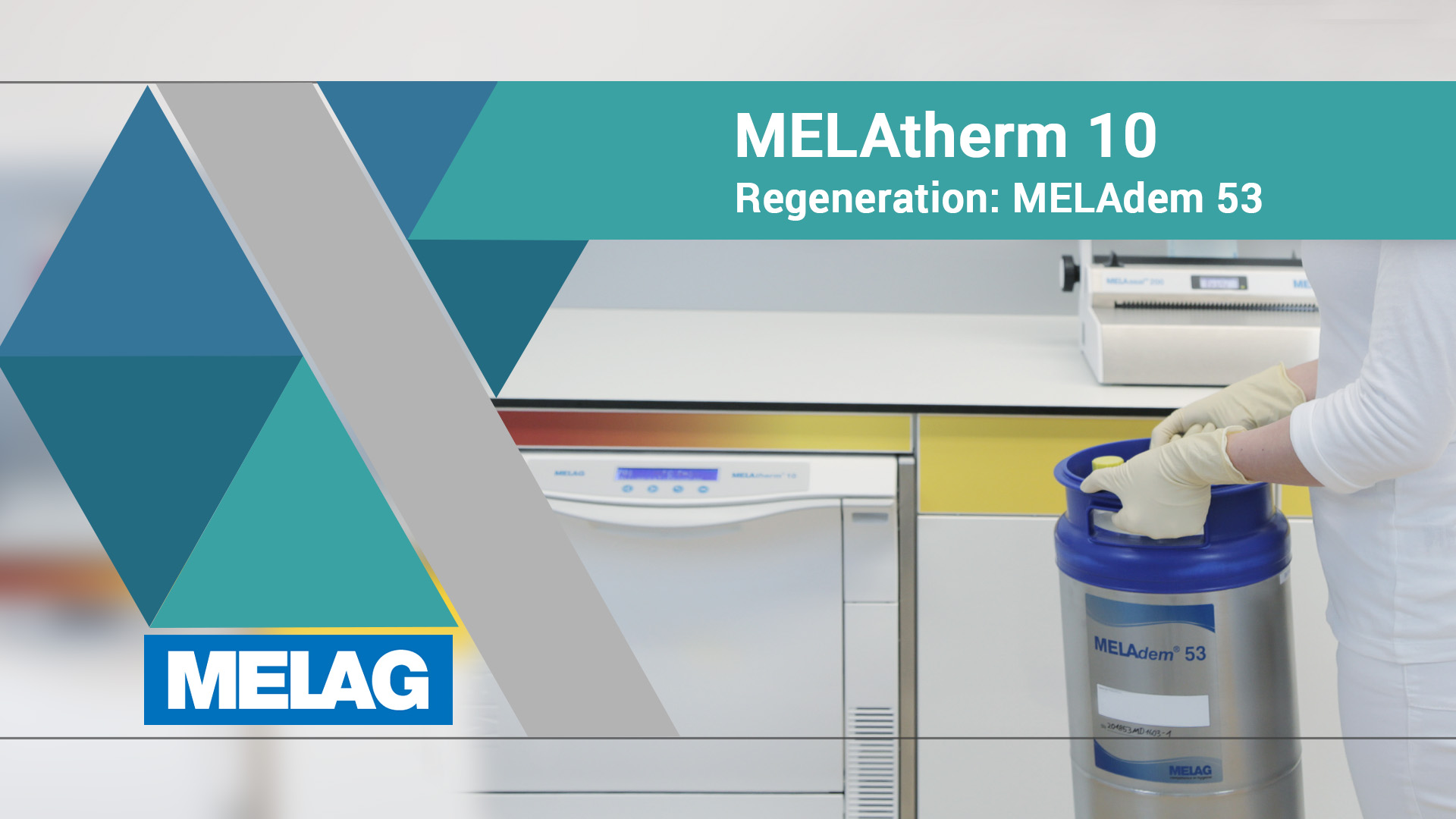 Video-Tutorial MELatherm 10 Regeneration der MELadem 53