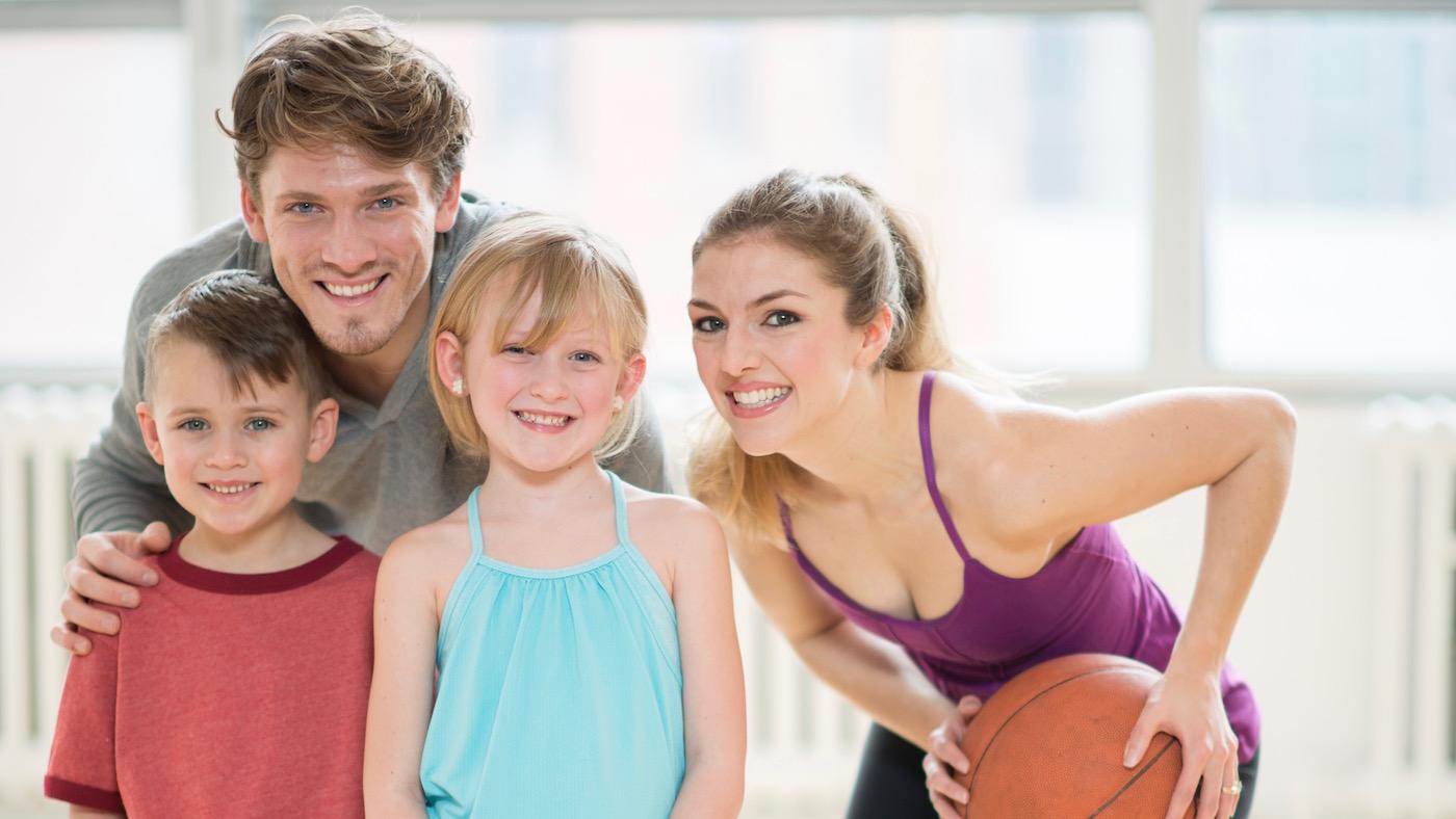 Gruppenbild Familie