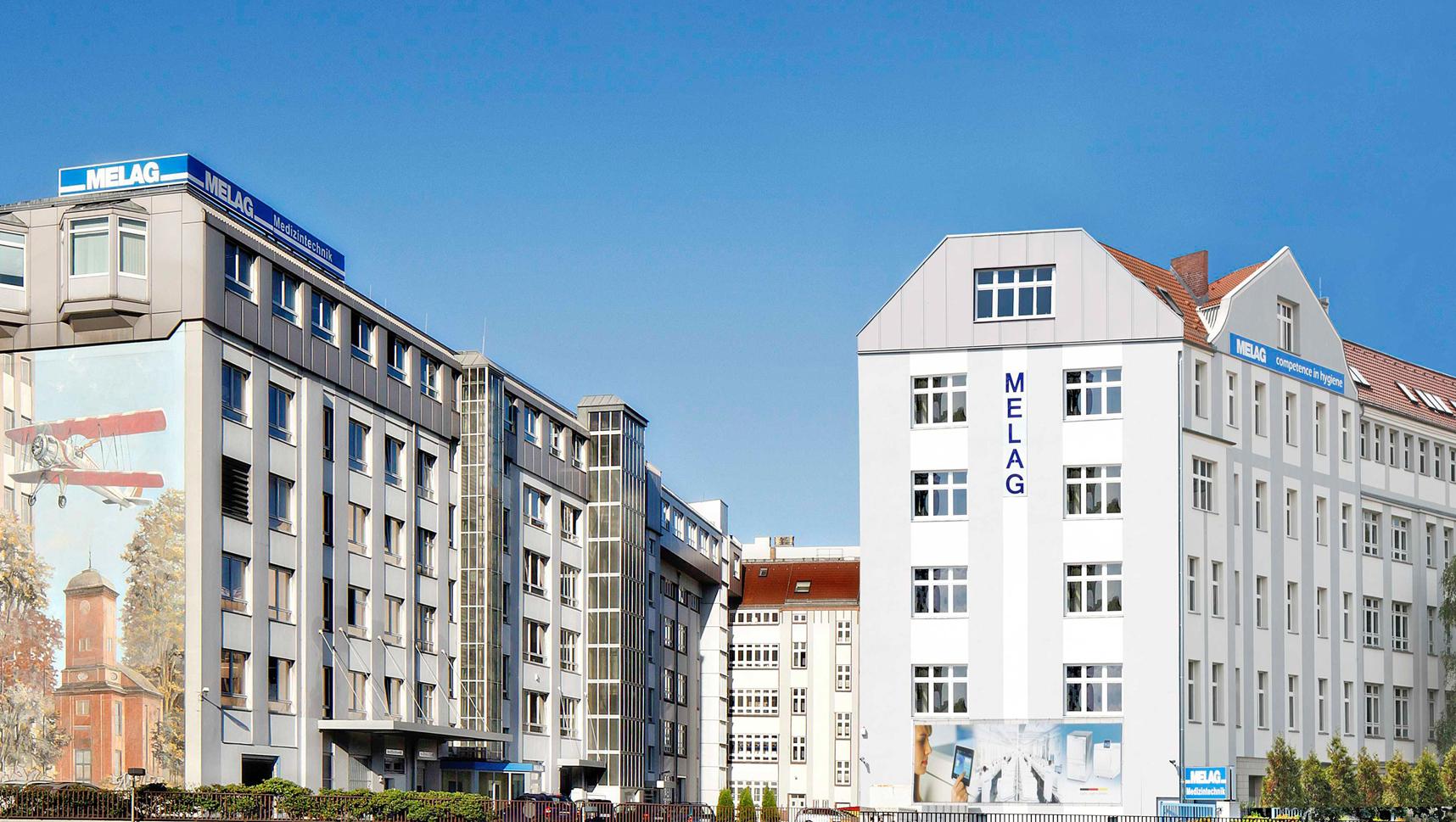 MELAG Firmenkomplex in Berlin