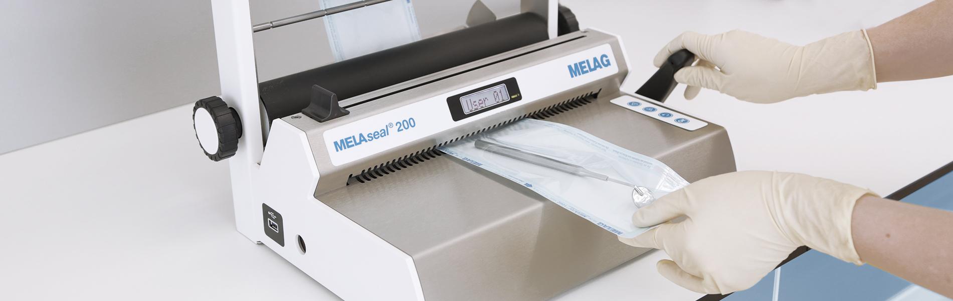 Mesin penyegelan MELAseal 200