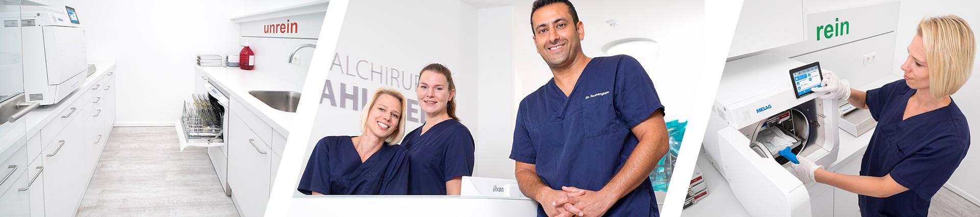 Clinica di chirurgia orale del dottor Korosh Roshanghias