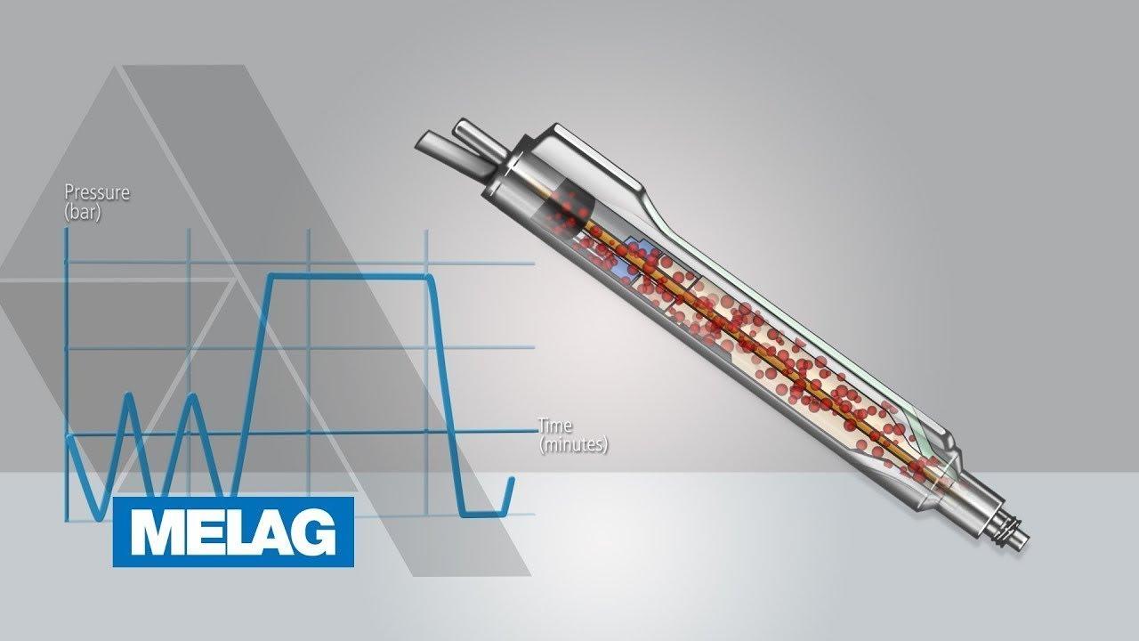 Końcówka Phaco z grafiką procesu sterylizacji