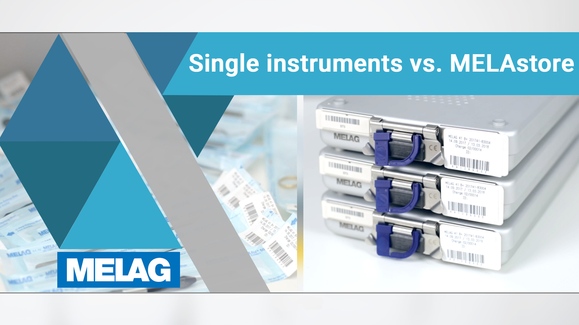 single instruments vs. instruments sets in wash-trays