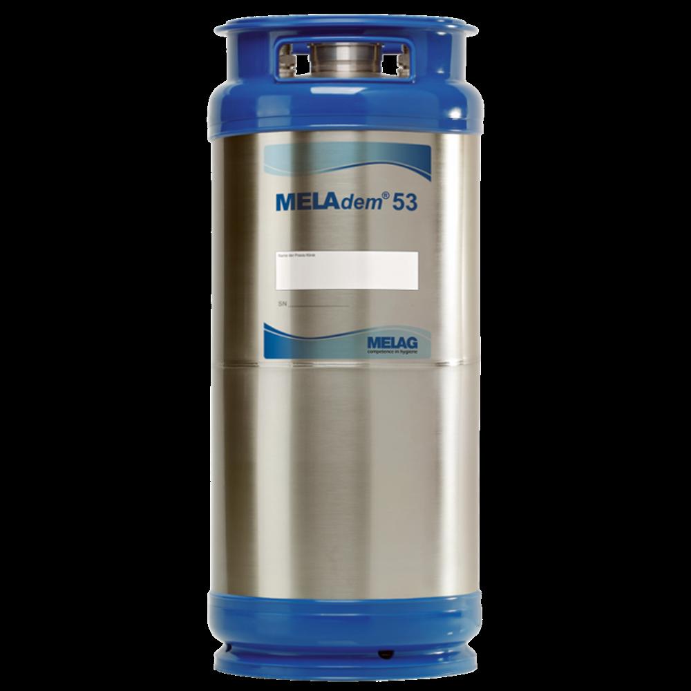 Vue de face de traitement de l'eau MELAdem