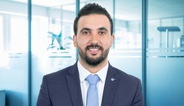 Portrait Adil Abouyaala, Area Manager Naher Osten und Afrika