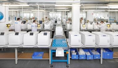 MELAG Produktionsanlage im Jahr 2016