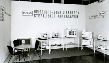 MELAG booth on trade fair in 1961