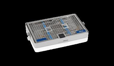 Schrägansicht MELAstore-Tray Waschkassette