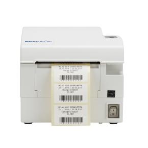 Frontansicht Label Printer für Premium-Klasse Autoklaven