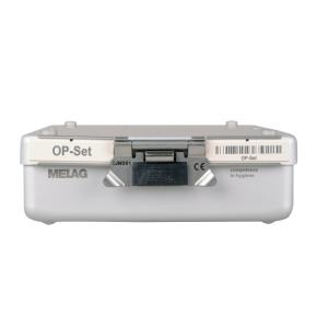 Frontansicht MELAstore-Box Sterilisier-Container