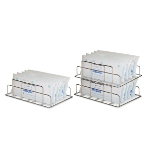Holder for sterilization package MELAfol