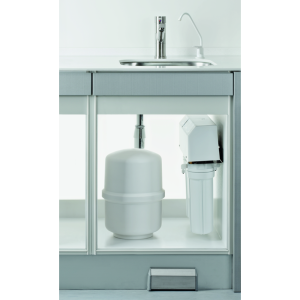 MELAdem 47 water treatment filter integrated in hygiene room