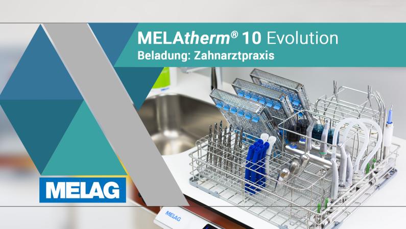 Video Produkthighlights ansehen MELAtherm 10 Evolution Zubehör