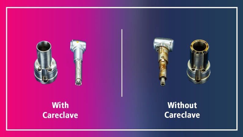 MELAG quality inspection - safe and reliable instrument reprocessing with Careclave