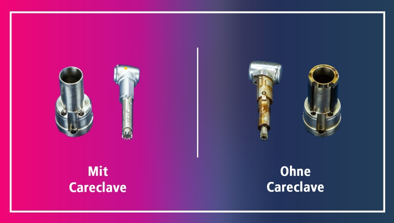 MELAG quality tests - safe and reliable instrument reprocessing with Careclave