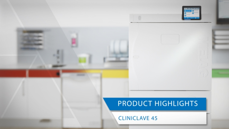 Video view product highlights Cliniclave 45