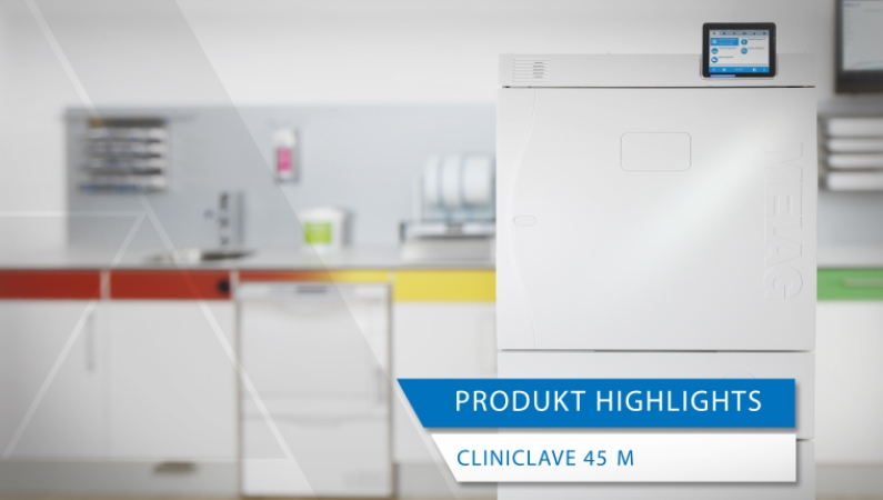 Videoansicht Produkt-Highlights Cliniclave 45 M