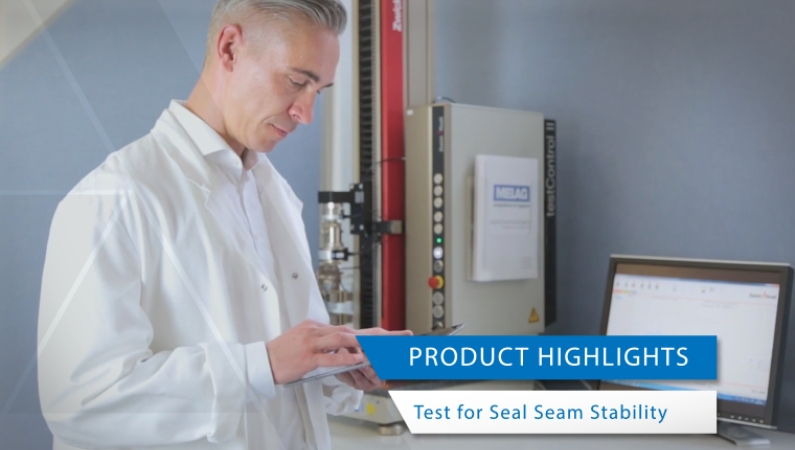 Video view product highlights test for seal seam stability