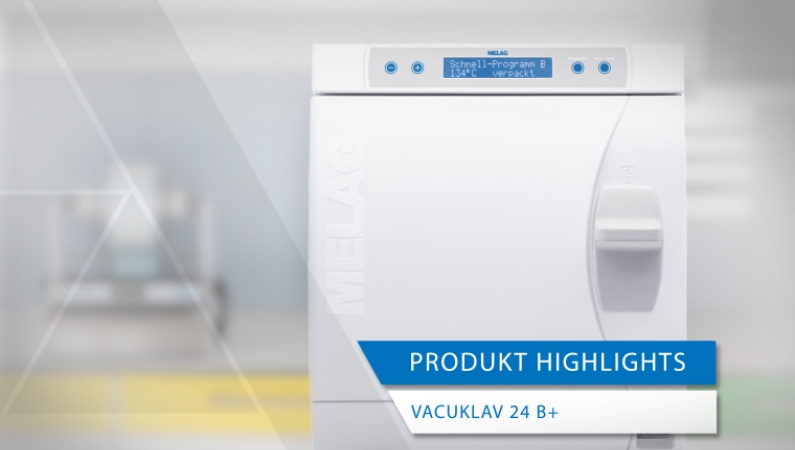 Videoansicht Produkt-Highlights Vacuklav 24 B+ Evolution