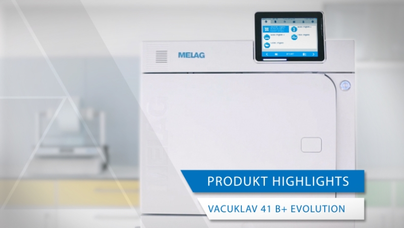 Videoansicht Produkt-Highlights Vacuklav 41 B+ Evolution