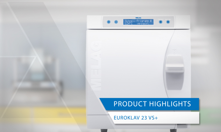 Product video Euroklav 23 VS+ for gynaecological practices