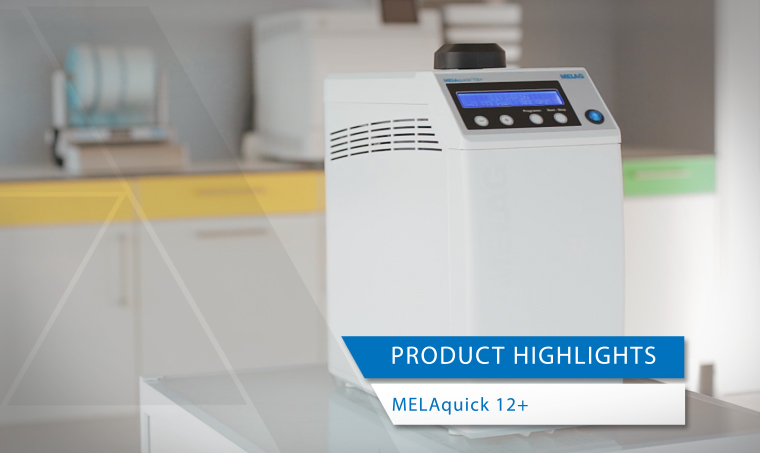Video showing the benefits of the compact steam sterilizer MELAquick 12+
