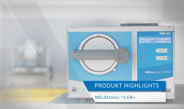 Produktvideo Sterilisator MELAtronic 15 EN+